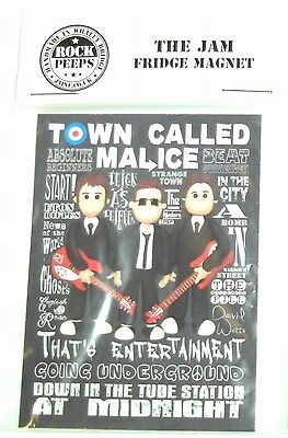 Inspired by The Jam Paul Weller Bruce Foxton  Fridge Magnet