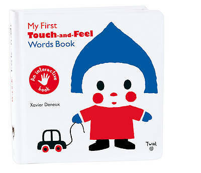 My First Touch and Feel Words Book - 9782848019802