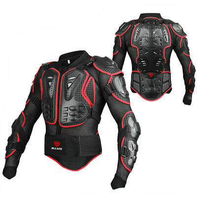 Professional Brand Motorcross Racing Full Body Armor Spine Chest Jacket Gear
