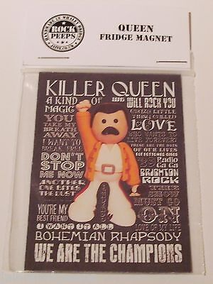 Inspired by Queen Freddie Mercury Fridge Magnet