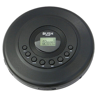 BUSH Personal Portable CD Player with Anti-shock CD-885/CE-138E (9152069 AV)