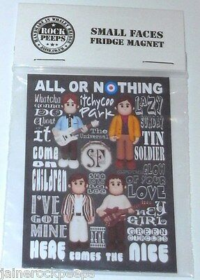 Inspired by Small Faces Steve Marriot All Or Nothing Fridge Magnet