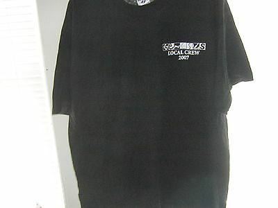 Genesis Local Crew Shirt 2007 Promo Xl Unused Phil Collins Mike Rutherford