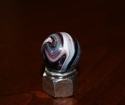 Vintage Peltier Glass Co Played With Purple Slag 3/4