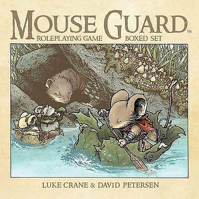 Mouse Guard Roleplaying Game Box Set, 2nd Ed. - 9781608867554