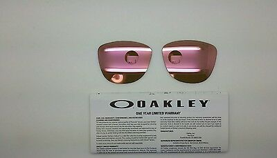 Oakley FROGSKINS lenti ricambio colore pink iridium model 9013 cal 55 ORIGINAL