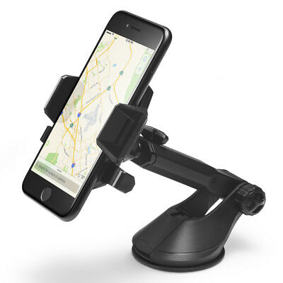 One Tap Car Mount Windshield Dashboard Phone Holder Kuel [AP12T] for Universal