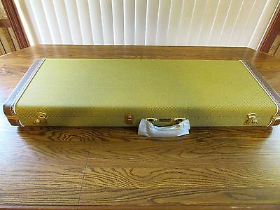 Vintage Fender Strat Tele G&G TWEED HARDSHELL CASE USA