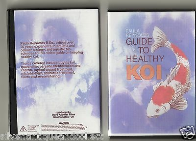 Guide To Healthy Koi, Dvd  By Paula Reynolds