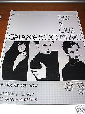 Galaxie 500 This Is Our Music Poster