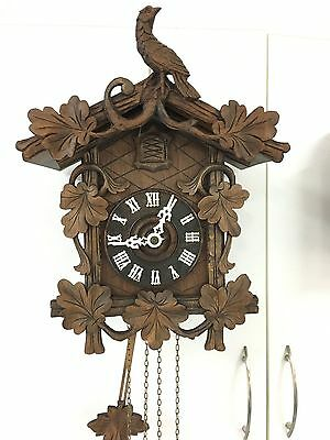Antique German Black Forest Clock Cuckoo