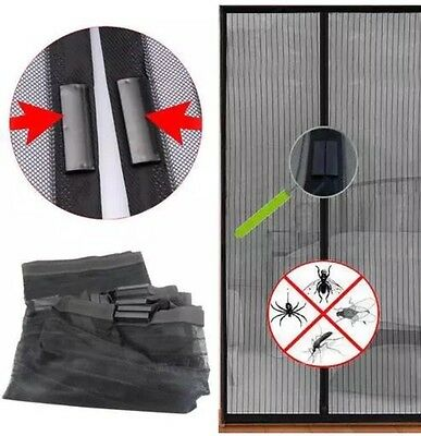 Mosquito Door Magnetic Window Curtain Magic Bug Mesh Fly Screen Insect Net  Bug