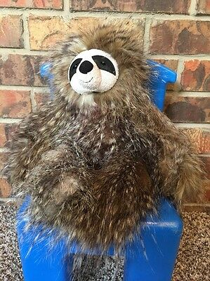 """Jellycat London Cyril Sloth Stuffed Animal New With Tags 17"""" Soft Cuddly Lovey"""