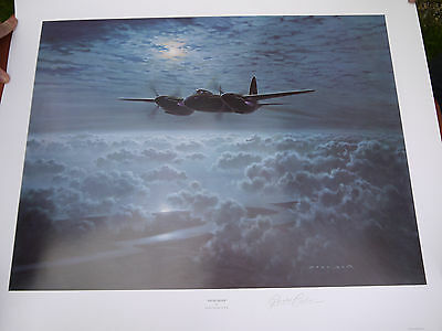"Gerald Coulson ""Pathfinder"" Limited Edition Signed Print"