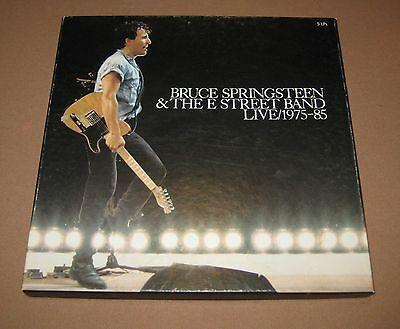 Bruce Springsteen & The E Street Band Live / 1975-85 - 5 LPs Record Box Set 1986