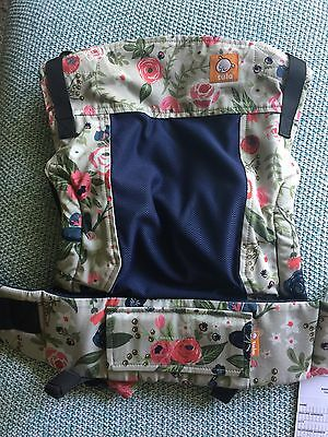 Tula Free-To-Grow Coast Baby Carrier Limited Edition Rosy Posy NEW