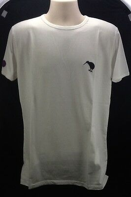 Canterbury Rugby Mens Dumbell Back White Tee Shirt - Size Small