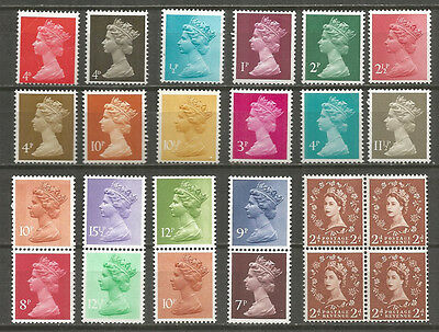 Great Britain  nice small collection  mint stamps MNH (**)