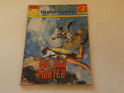 UNDERCOVER PICTURE LIBRARY,NO 30,1965 ISSUE,GOOD FOR AGE,52 yrs old,V RARE COMIC