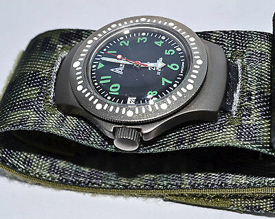 """Russian Military Watch """"Warrior"""" ORIGINAL NEW Men Wristwatch for Special Forces"""