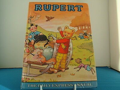 Vintage Original Rupert Bear Annual 1978