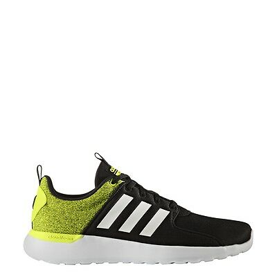 Mens Adidas Cloudfoam Lite Racer Black Athletic Running Shoes AW4030  11.5 & 13