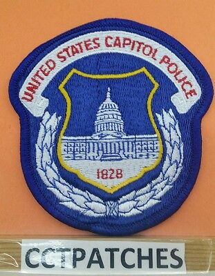 United States Capitol Police Washington Dc District Of Columbia Shoulder Patch 2