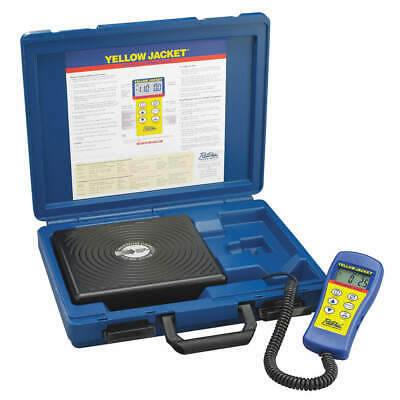 YELLOW JACKET Refrigerant Scale,Electronic,110 lb, 68802