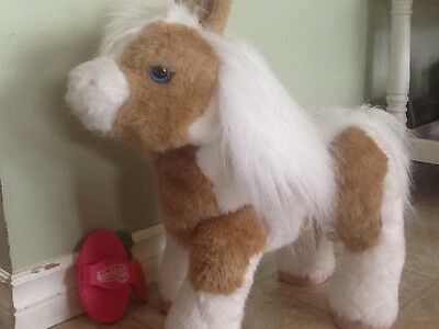 Fur Real Friends Baby Butterscotch Pony Accessories Included