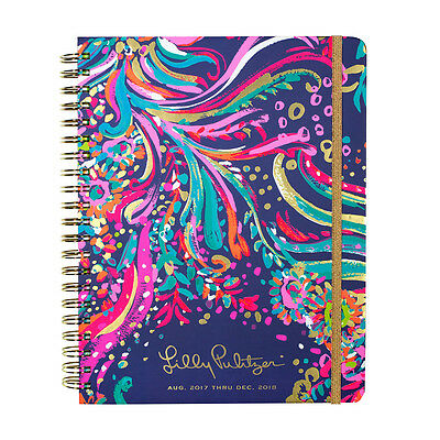 LILLY PULITZER - 2017-2018 Agenda - 17 month Planner - Beach Loot - Large