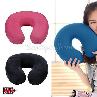 U-Shape Pillow Memory Foam Neck Headrest Car Flight Travel Soft Nursing Cushion