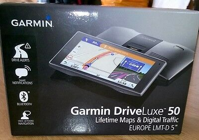 "Garmin DriveLuxe 50LMT-D 5"" EU with Full Europe Lifetime Map and Digital Traffic"