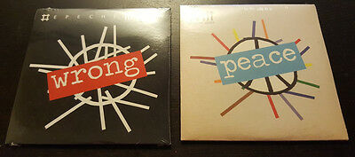DEPECHE MODE WRONG + PEACE 2 x ULTRA RARE DELETED 2009 PROMO CDs! SEALED! MINT!