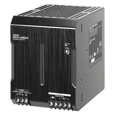 OMRON DC Power Supply,24VDC,20A,50/60Hz, S8VK-G48024