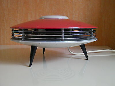 Chauffage d'appoint tripode vintage ITHO soucoupe volante UFO