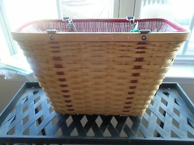 2004  Longaberger Mothers Day  Weekend Tote Basket Purse