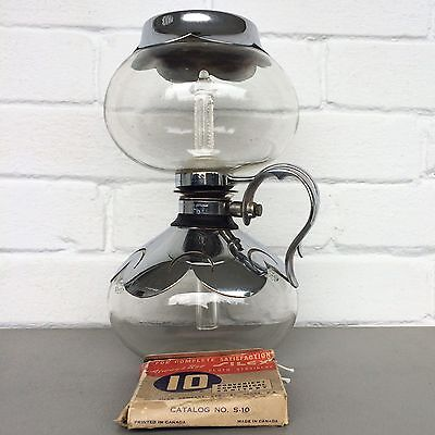 Silex Vacuum Coffee Maker W Silex And Pyrex Glass And Filters / Strainers