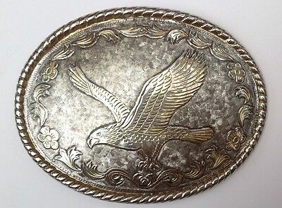 American Eagle Rockmount Ranch Wear Belt Buckle Vintage American Retro Classic