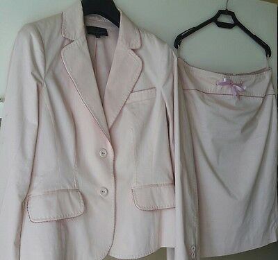 Tailleur giacca gonna completo donna Luisa Spagnoli tg.44