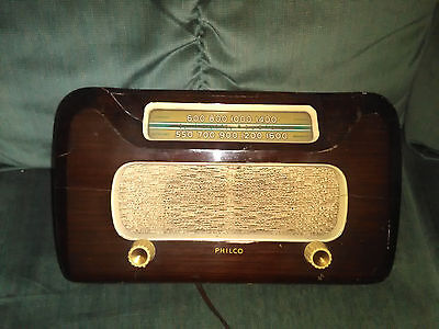 Vintage PHILCO Radio model 48461 Working Condition