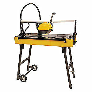 QEP Steel Tile Saw,Wed/Dry,Electric,30 in. dia., 83250Q
