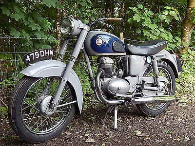 James Captain 200cc 1959 classic Vintage Motorbike