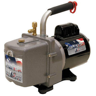 JB INDUSTRIES Refrig Evacuation Pump,4.0 cfm,6 ft., DV-4E
