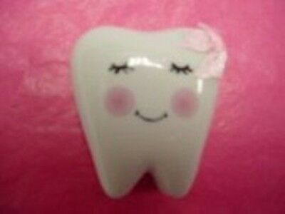 Tooth Fairy Porcelain Treasure Box-Pink Bow