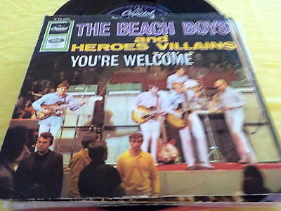 "7"" *Rock'n'Roll* THE BEACH BOYS - Heroes And Village"