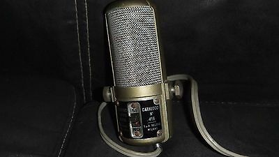 Geloso 416 Vintage Double Ribbon Microphone made in Italy 1950's