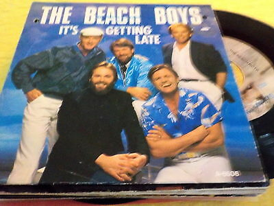"7"" *Rock'n'Roll* THE BEACH BOYS - It's Getting Late"