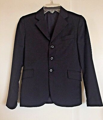 GRAND PRIX EXTREME STRETCH Riding Jacket Show Coat 16R Navy Blue Youth Girls
