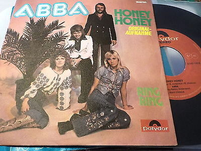 "7"" - *70's* ABBA - Honey Honey  *Austria"