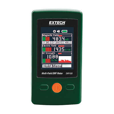 EXTECH EMF Meter,LCD,Include (3) AAA Batteries, EMF450